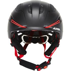 Alpina Snow Tour - Casco de bicicleta - rojo/negro